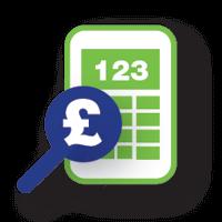 savings icon calculator